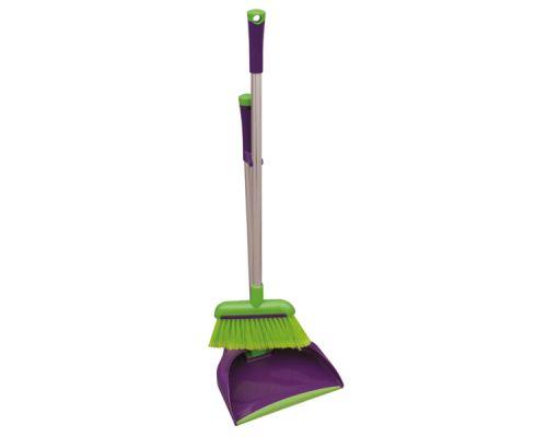 Комплект для уборки Лентяй PRESTIGE пластик, York 06305