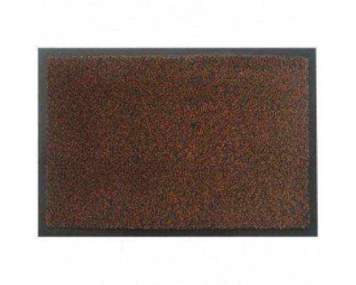 Коврик на основе ПВХ с ворсом коричневый 60*90 ZG MOSS-Ch