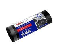 Пакет для мусора с завязками черный HD 35л*15шт (51*53см), PROservice
