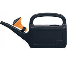 Лейка садовая AQUA пластик, черная (5л), PRP 79198-411
