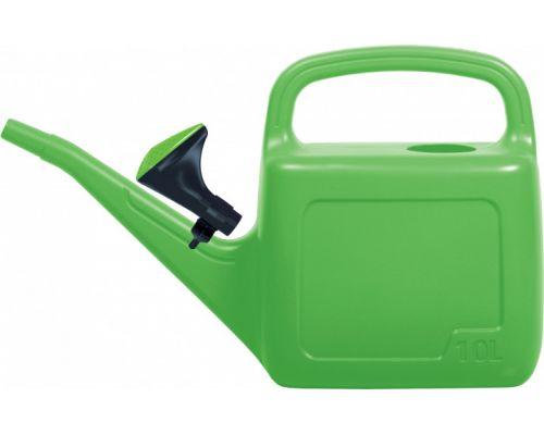 Лейка садовая AQUA пластик зеленая 10л PRP 97195-361