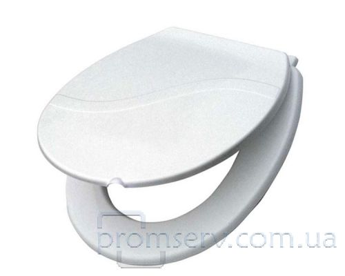 Крышка для унитаза типа S пластик белая, KRP 16500