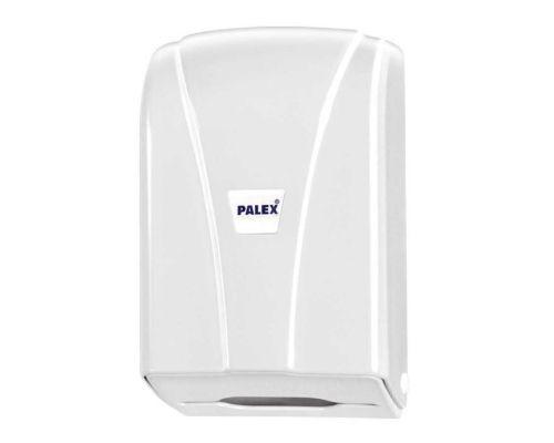 Диспенсер листовой туалетной бумаги пластик, белый, PALEX 3438