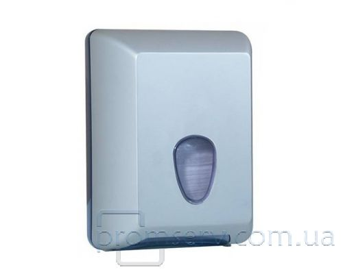 Диспенсер листовой туалетной бумаги пластик, сатин, Mar Plast 622satin