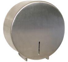 Диспенсер туалетной бумаги Джамбо нерж, хром, ZG TD-8300C