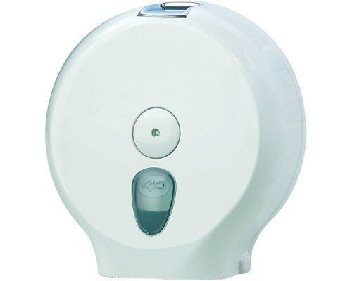 Диспенсер туалетной бумаги Джамбо пластик, белый, Mar Plast 590