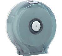 Диспенсер туалетной бумаги Джамбо пластик, прозрачный, Mar Plast 591