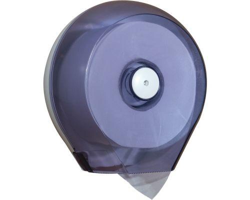 Диспенсер туалетной бумаги Джамбо пластик, прозрачный, Mar Plast 757t