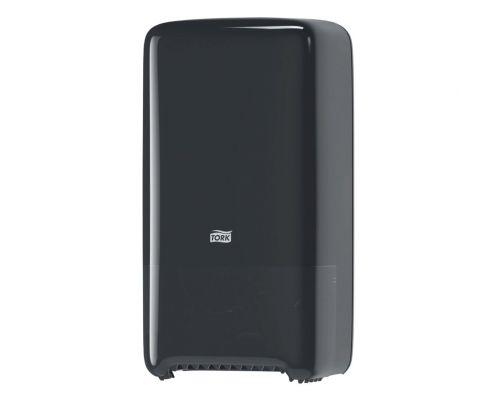 Диспенсер туалетной бумаги на 2 рулона Elevation T6, пластик черный, Tork 557508