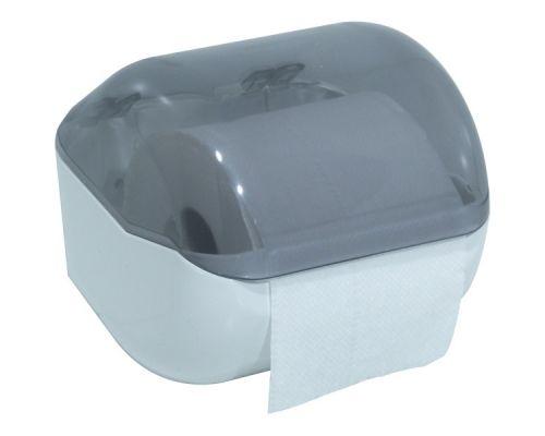 Диспенсер туалетной бумаги пластик прозрачный Mar Plast 619