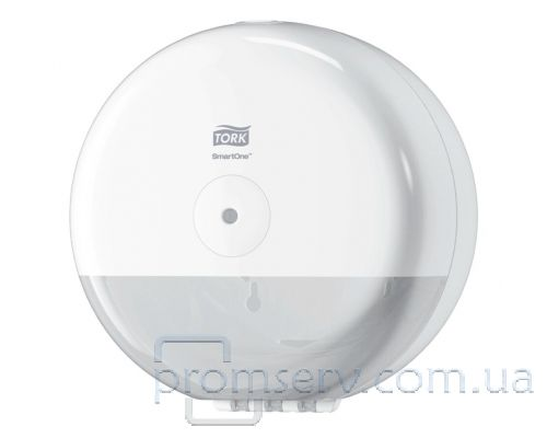 Диспенсер туалетной бумаги в рулон. с центр.вытяж. Elevation T9, пластик белый, Tork SmartOne681000