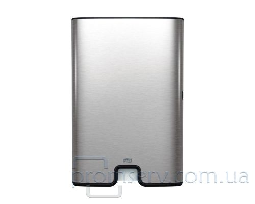 Диспенсер листовых полотенец Image Design H2, Z нерж/пластик металлик Tork Xpress 460004