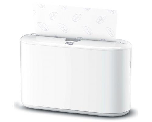 Диспенсер листовых полотенец настольный Elevation H2, Z пластик белый, Tork Xpress 552200
