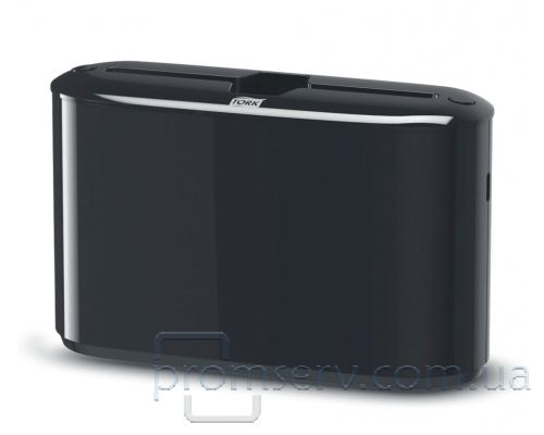 Диспенсер листовых полотенец настольный Elevation H2, Z пластик черный, Tork Xpress 552208