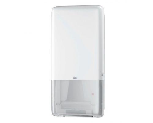 Диспенсер листовых полотенец с неприрыв. подачей Elevation H5, пластик белый, Tork PeakServe 552500