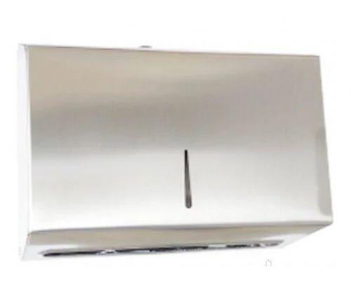 Диспенсер листовых полотенец Z, V нерж, сатин, NOKSI 200340