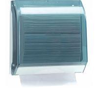 Диспенсер листовых полотенец Z, V пластик, прозрачный, Mar Plast 696
