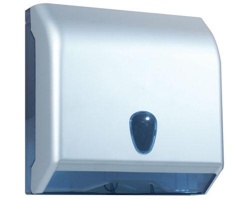 Диспенсер листовых полотенец Z, V пластик, сатин, Mar Plast 695satin