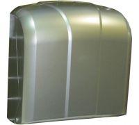 Диспенсер листовых полотенец Z, V пластик, сатин, Vialli K.4-M