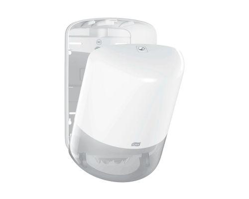 Диспенсер макси рулонных полотенец с центр. витяж. Elevation M2, пластик белый, Tork 559000
