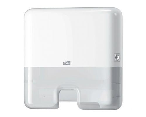 Диспенсер мини листовых полотенец Elevation H2, Z пластик белый Tork Xpress 552100