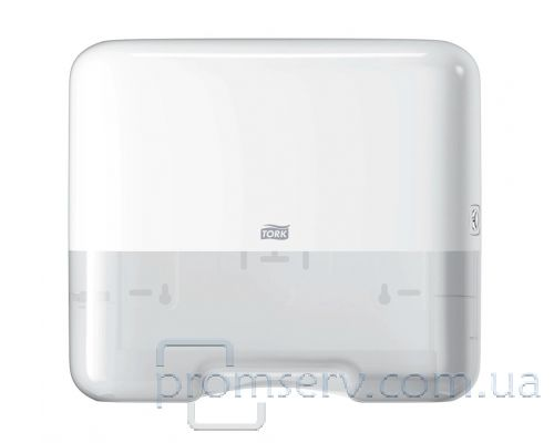 Диспенсер-мини листовых полотенец H3, V пластик белый, Tork 553100