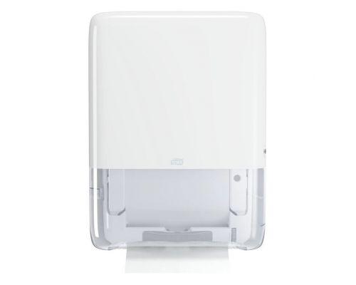 Диспенсер-мини листовых полотенец с неприр. подачей ElevationH5, пластик белый, Tork PeakServe552550
