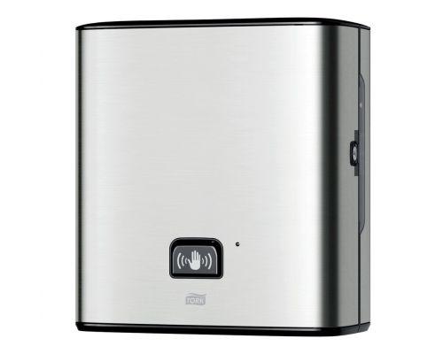 Диспенсер рулонных полотенец сенсорный Image Design H1 нерж/пластик Tork Matic 460001