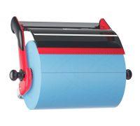Диспенсер для нетканых материалов настенный W1, красно-черный, Tork 652108