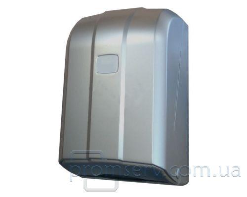 Диспенсер листовой туалетной бумаги пластик серый Vialli K.6-Z-M