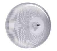 Диспенсер туалетной бумаги Джамбо пластик, белый, LOSDI CP-5006B