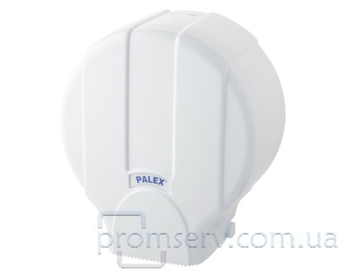 Диспенсер туалетной бумаги Джамбо пластик, белый, PALEX 3448