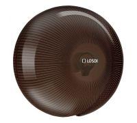 Диспенсер туалетной бумаги Джамбо пластик черный LOSDI CP-5006BL