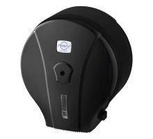 Диспенсер туалетной бумаги Джамбо пластик, черный, Vialli MJ.1.B