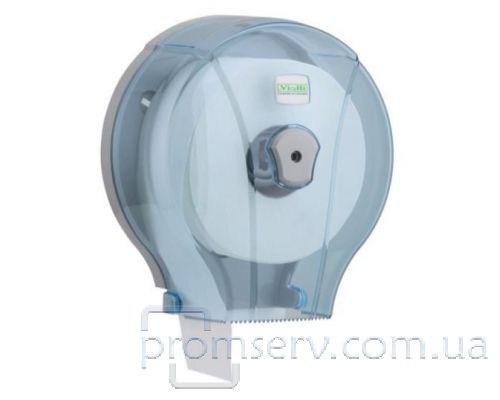 Диспенсер туалетной бумаги Джамбо пластик прозрачный Vialli MJ.1t