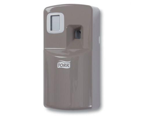 Диспенсер для аэрозольного освежителя воздуха электрон. Image Design A1, пластик серый, Tork 256055