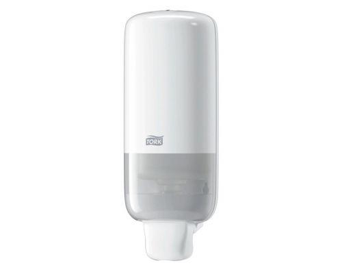 Дозатор мыла-пены Elevation S4, пластик белый (1л), Tork 561500