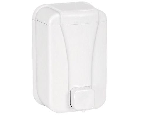 Дозатор для жидкого мыла пластиковый (0,5л), белый, PALEX 3420