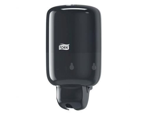 Дозатор жидкого мыла Elevation S2, пластик черный (500мл), Tork 561008