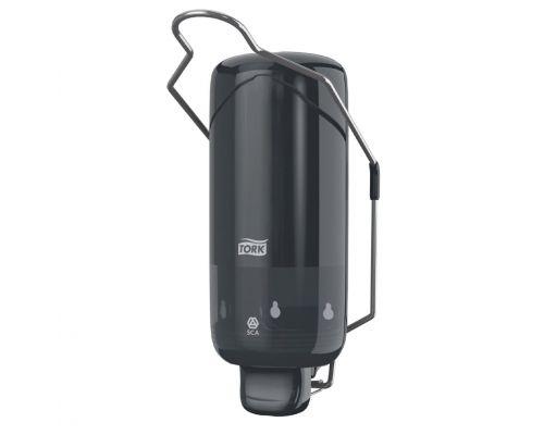 Дозатор жидкого мыла локтевой Elevation S1 пластик черный 1л Tork 560108