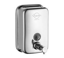 Дозатор жидкого мыла нерж, хром (0,5л), ZG SD-500