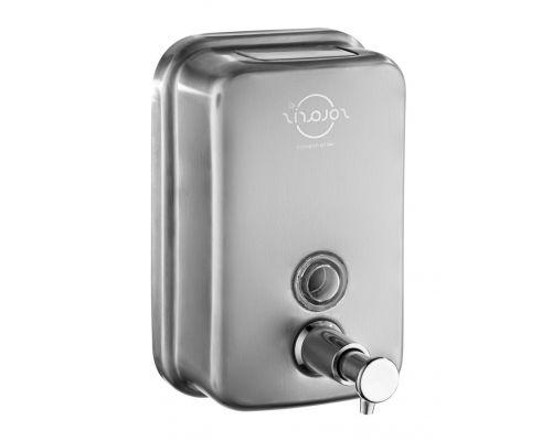 Дозатор жидкого мыла нерж, сатин (0,5л), ZG SD-500SAT