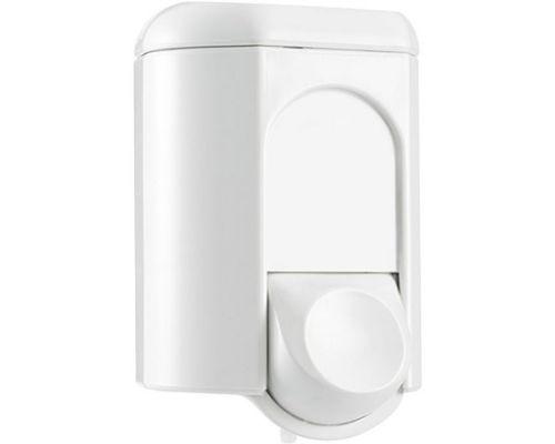 Дозатор жидкого мыла пластик, белый (0,35л), Mar Plast 561w