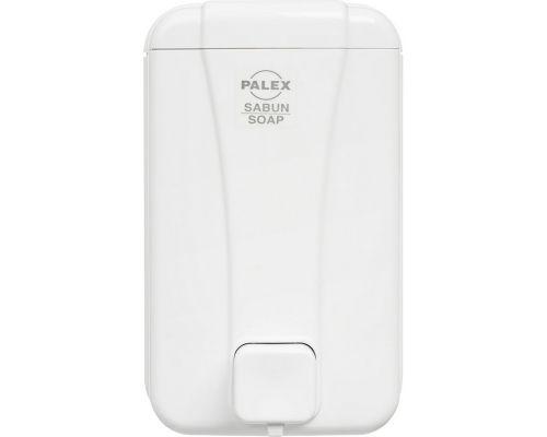 Дозатор жидкого мыла пластик белый 1л PALEX 3430
