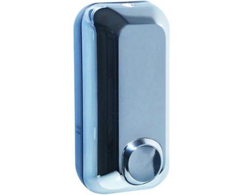 Дозатор жидкого мыла пластик, хром (0,55л), Mar Plast 714s