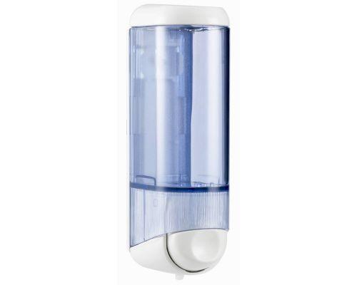 Дозатор жидкого мыла пластик, прозрачный (0,25л), Mar Plast 605t