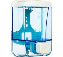 Дозатор жидкого мыла пластик прозрачный 500мл PALEX 3420t