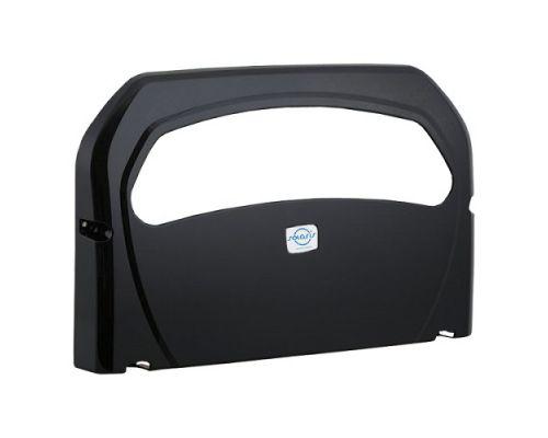 Диспенсер накладок на унитаз 1/2 пластик, черный, Vialli К7.В