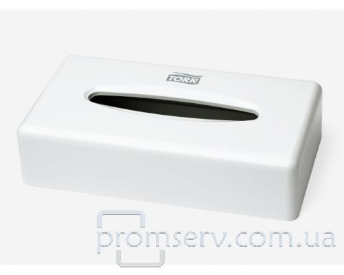 Диспенсер салфеток для лица Elevation F1, пластик белый, Tork 270023