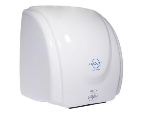 Электросушилка для рук пластик, белая, ZG-835